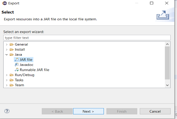 jar folder file