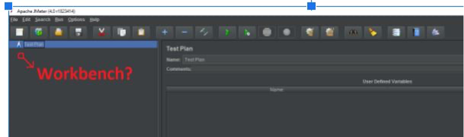 workbench screenshot