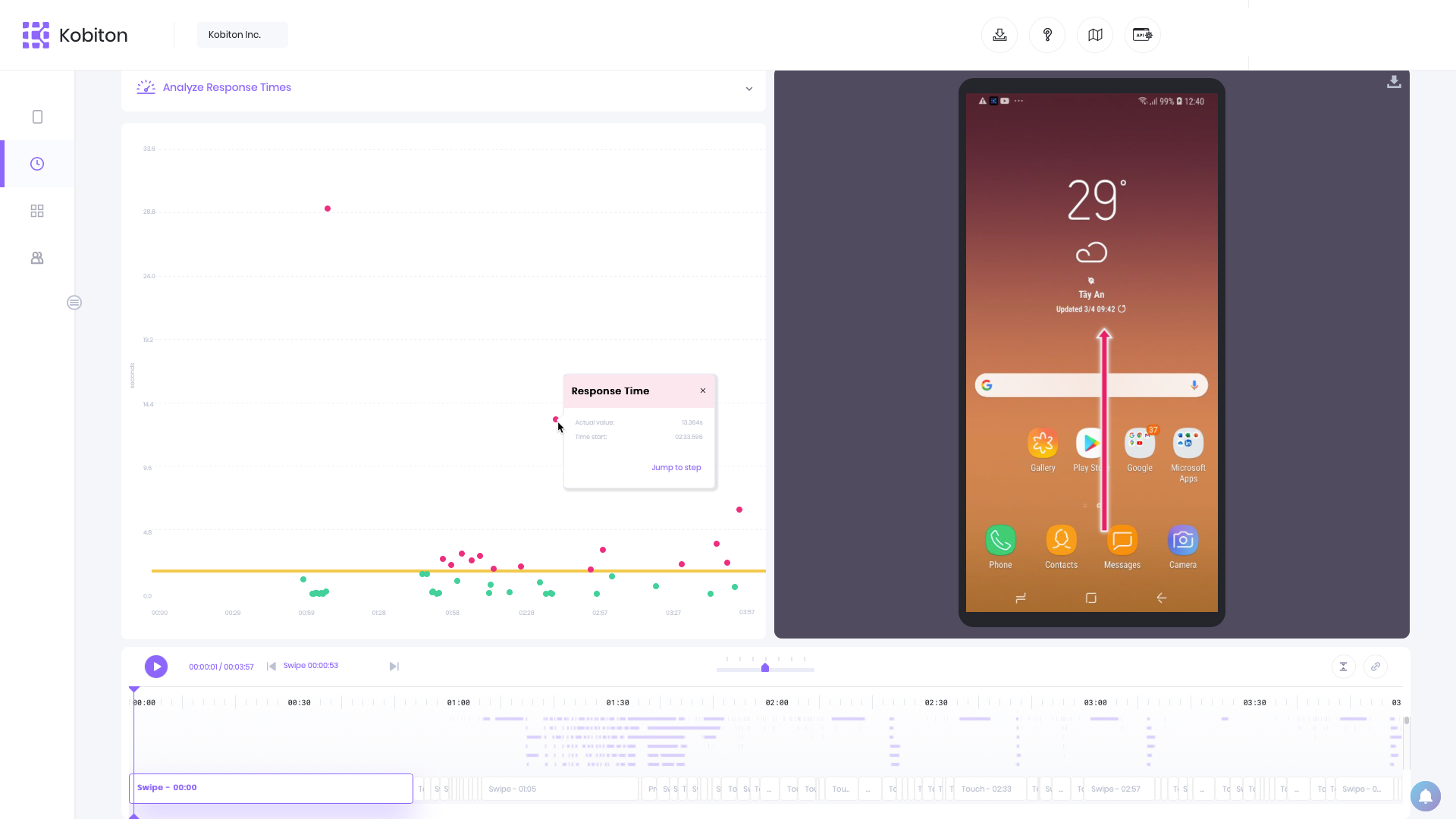 March 2021 Kobiton Product Update: New iOS support, response time in the Session Explorer, & more
