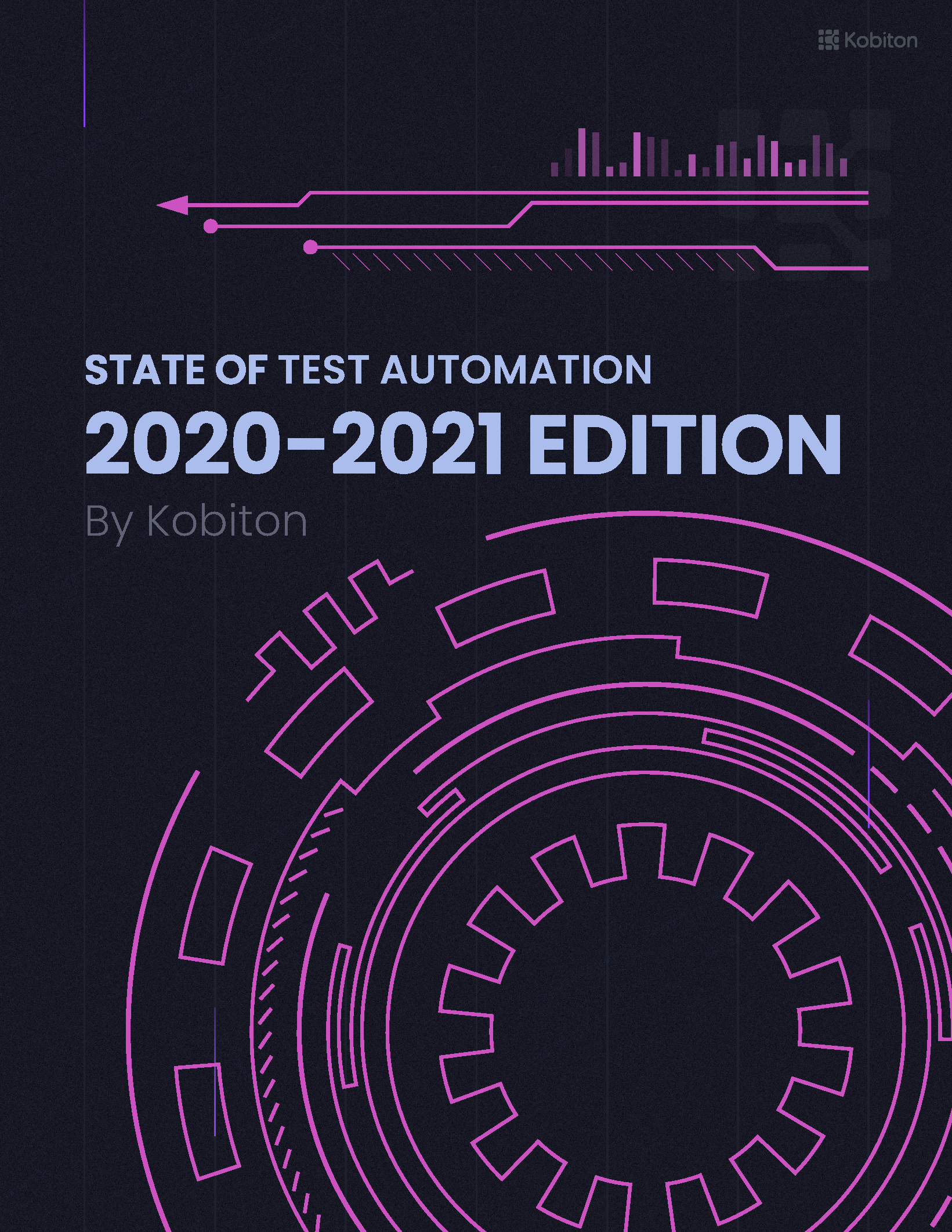 State of Test Automation 2020- Front cover